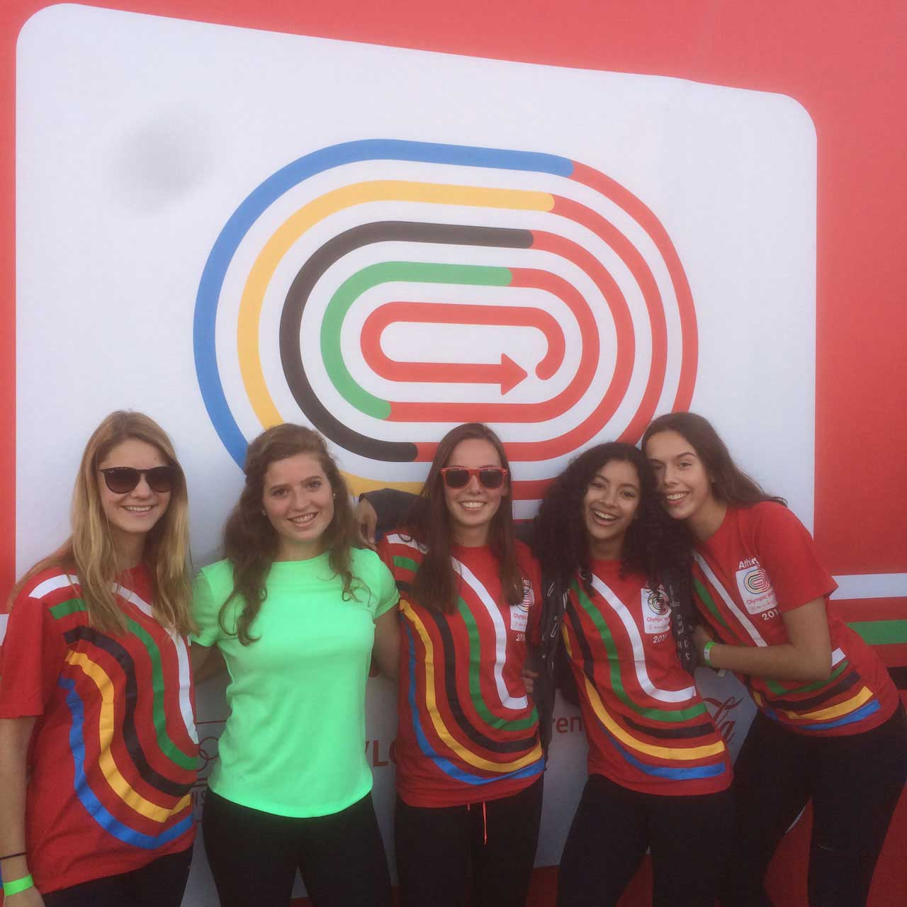 Olympic Moves Meisjesteam atletiek Camphusianum