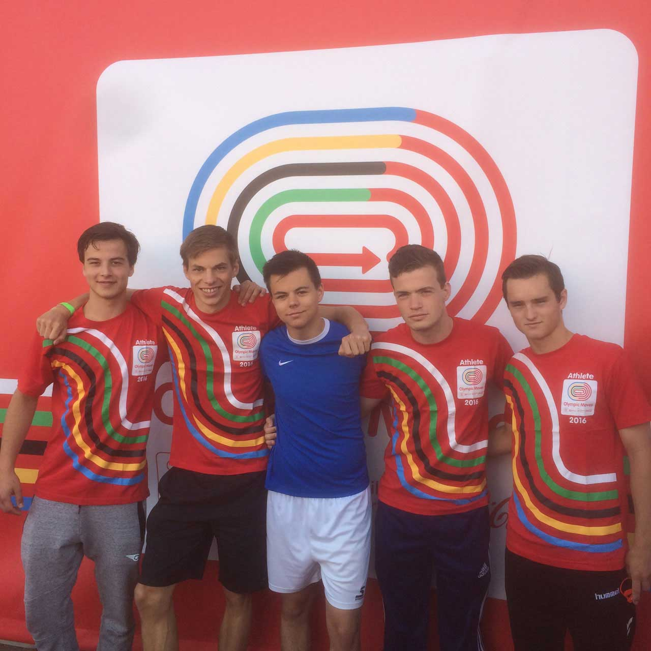 Olympic Moves jongensteam atletiek Camphusianum